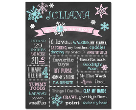 Winter Onederland Birthday Chalkboard,winter birthday,birthday chalkboard,chalkboard signs,first birthday chalkboard,frozen birthday,winter wonderland,birthday,party,theme