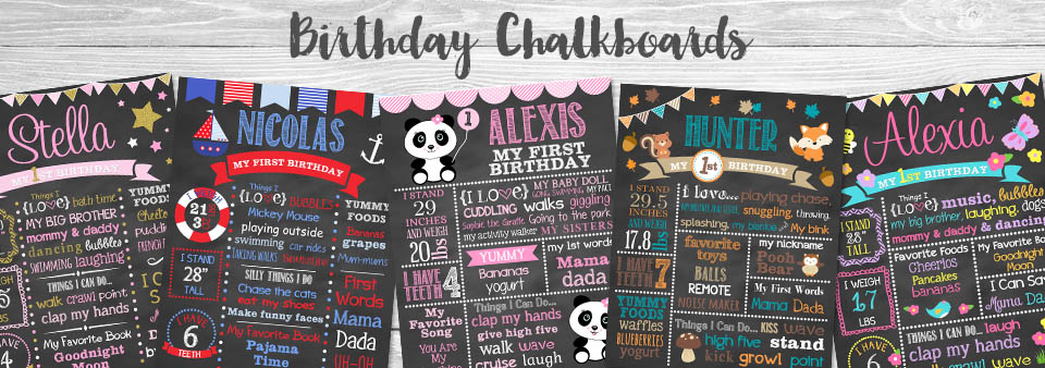 Simply Dovie, Birthday Chalkboards, Birth Stats Pillows, Cupcake Toppers, Birthday Signs, Newborn Pillows, Birthday Invitations,Thank You Cards