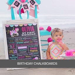 Birthday Chalkboard Signs