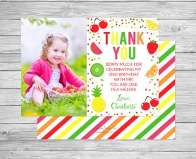 Two-ti Frutti Thank You Photo