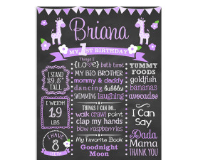 Giraffe Birthday Chalkboard,Birthday,Chalkboard,Party,theme,milestone,favorite things