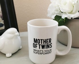 Mother of Twins Coffee Cup, Mother of Twins Coffee Mug
