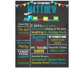 Train Birthday Chalkboard,Train birthday party,train party,birthday chalkboard,first birthday chalkboard,chalkboard signs,party,theme,birthday,boys,transportation,birthday,party decorations