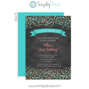 confetti,sprinkle,birthday,chalkboard,invite,invitation,party