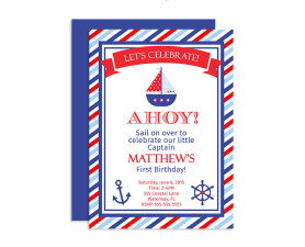 Nautical Birthday Invitations,nautical birthday,nautical invitations,nautical party,birthday,party,nautical,invites,invitations