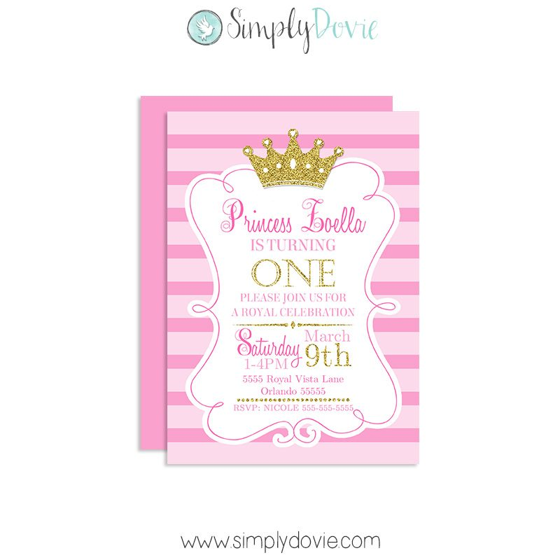 Princess crown birthday invitation royal princess birthday invitations princess birthday invitations princess birthday invites prince birthday party filmwisefo
